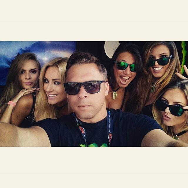 Monster selfie!! #monstergirls #monsterenergy