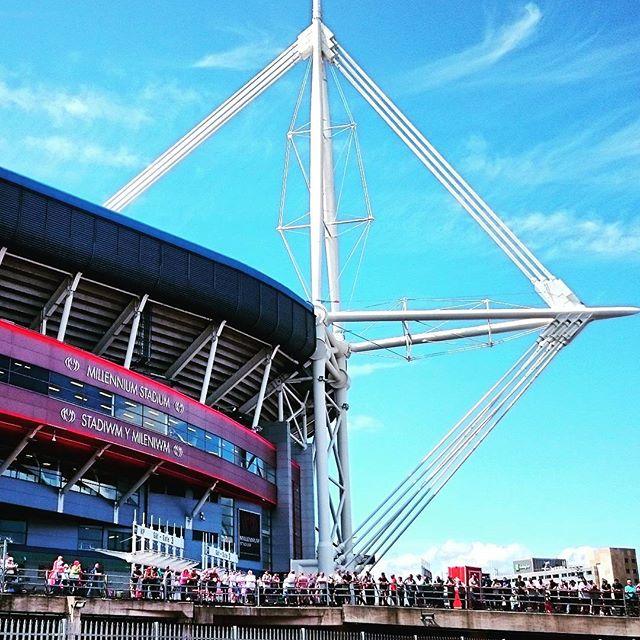 Cardiff stadium!