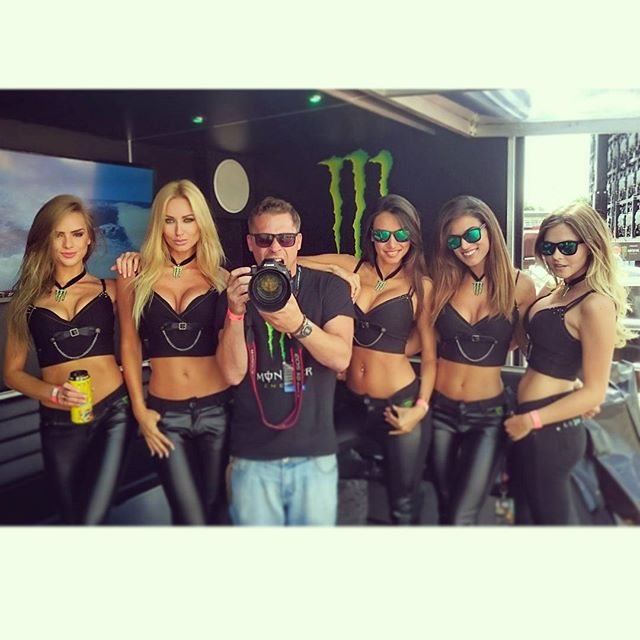 Me and monster girls!! Cardiff!!
