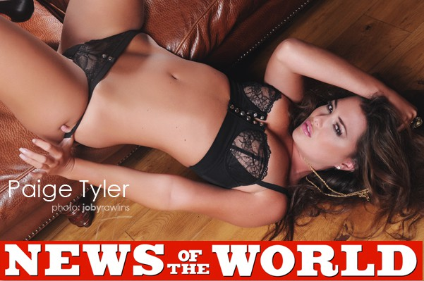 Paige Tyler news of the world